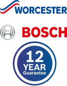 worcester bosch boiler warranty 12 years